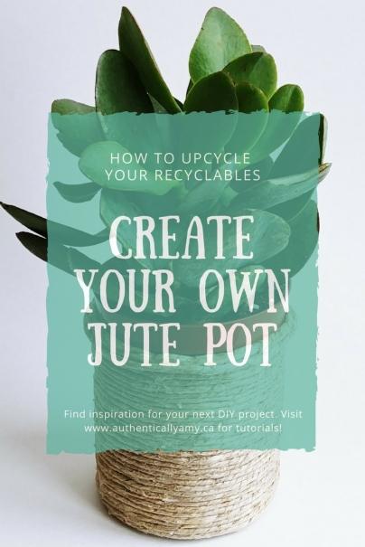 Jute Pot, DIY, Jute, Houseplants