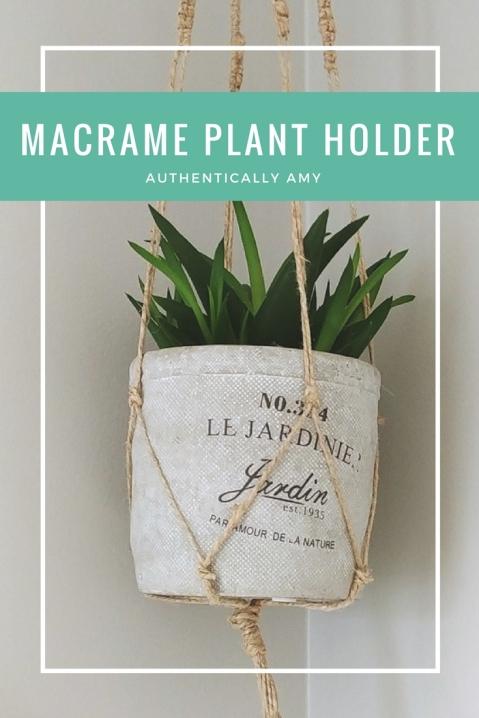 DIY, Macrame, Succulent, Plant Holder