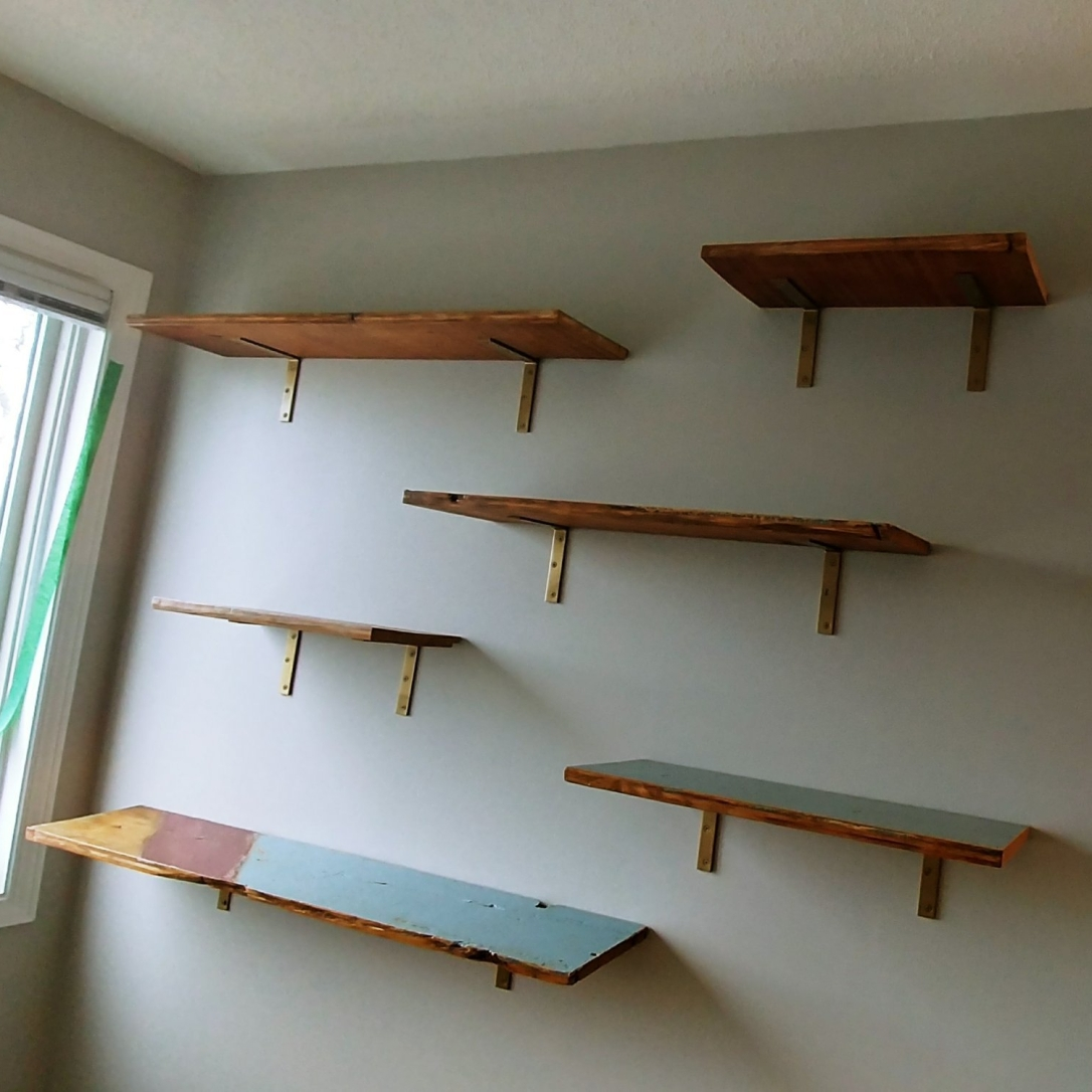 Shelves, naked shelves